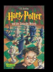 10 Jahre El Tragalibros - 10 Jugendbücher - Harry Potter und der Stein der Weisen