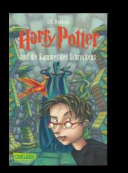 10 Jahre El Tragalibros - 10 Jugendbücher - Harry Potter und die Kammer des Schreckens