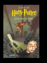 10 Jahre El Tragalibros - 10 Jugendbücher - Harry Potter und der Orden des Phönix