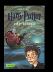 10 Jahre El Tragalibros - 10 Jugendbücher - Harry Potter 6