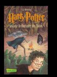 10 Jahre El Tragalibros - 10 Jugendbücher - Harry Potter und die Heiligtümer des Todes