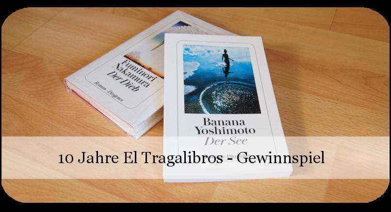 10 Jahre El Tragalibros - Bloggeburtstag - Japanische Bücher - Buchverlosung
