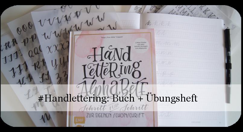 Handlettering Alphabete und Übungsheft von Frau Hölle