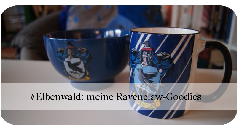 Harry Potter Elbenwald Goodies Ravenclaw Tasse und Kaffeebecher