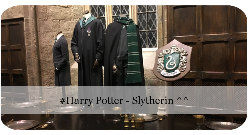 Harry Potter Studios Tour - Slytherin