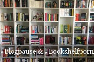 Blogpause und neues Bücherregala