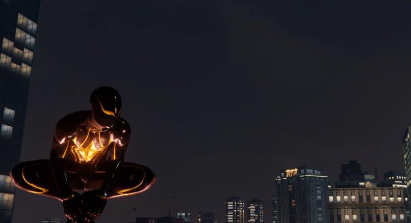 Marvel's Spider-Man bei Nacht