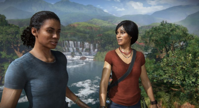 Uncharted: The Lost Legacy - Nadine und Chloe