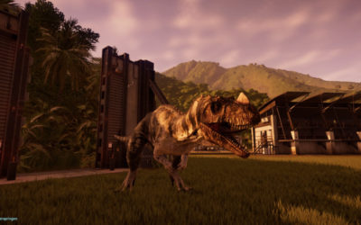 T-Rex - Jurassic World Evolution