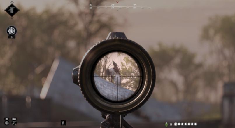 Schwarmmutter im Zielfernrohr  gesichtet (Hunt: Showdown)